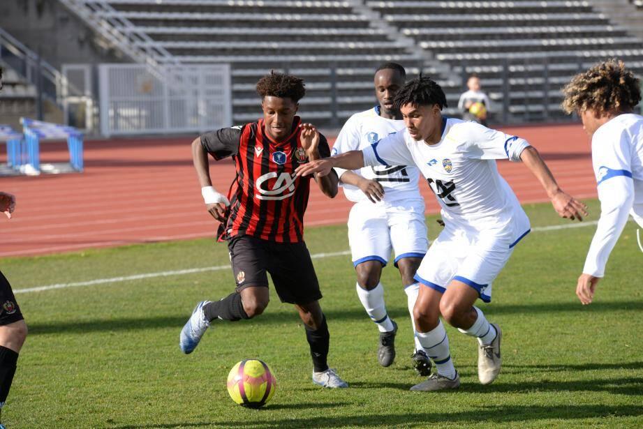 Soudeysse Kari et les Niçois s'arrêtent en seizièmes de finale.