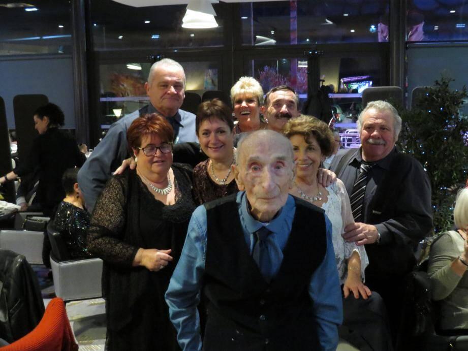 Henri Machto avait fêté ses 100 ans, en famille, le 31 décembre dernier.