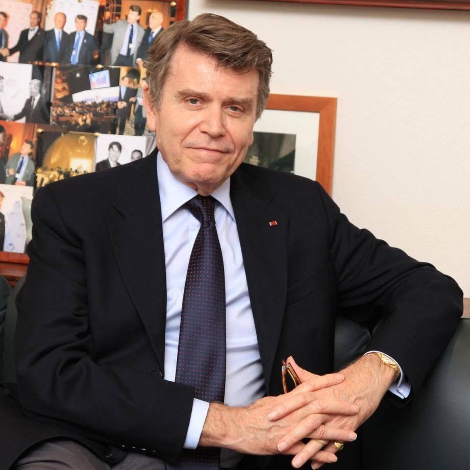 Thierry de Montbrial animera une conférence jeudi soir pour la MMF.(DR)