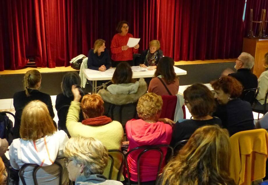 Le public était au rendez-vous pour cette assemblée générale élective.