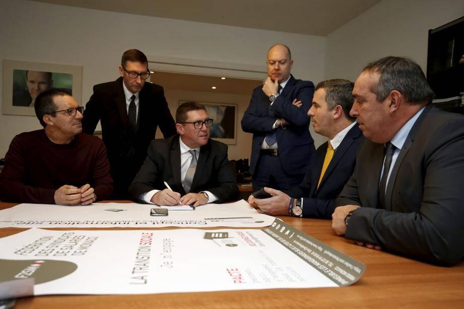 Cédrick Lanari et ses équipes assurent un développement « solide et pérenne » de la F2SM.