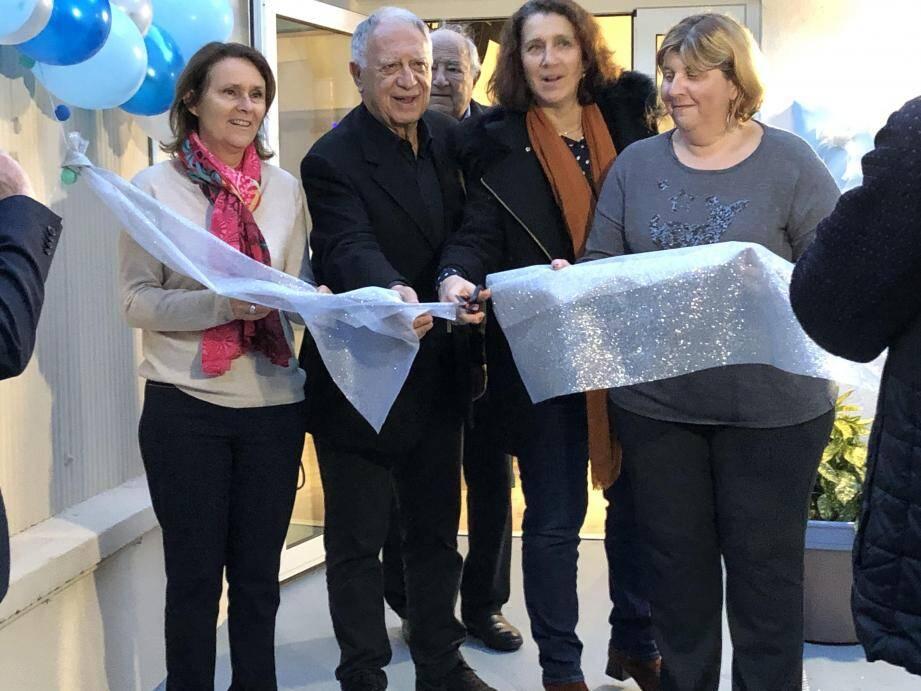L'association Children and Future et la No Finish Line ont apporté 71.000€ de fonds pour la construction de la nouvelle salle multi-activités, inaugurée mercredi dernier.