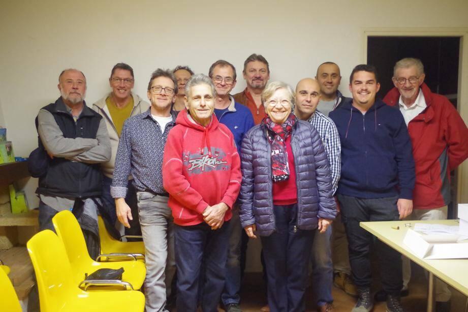 La maire Anne-Marie Waniart peut être fière de l'équipe du CCFF très active sur la commune.