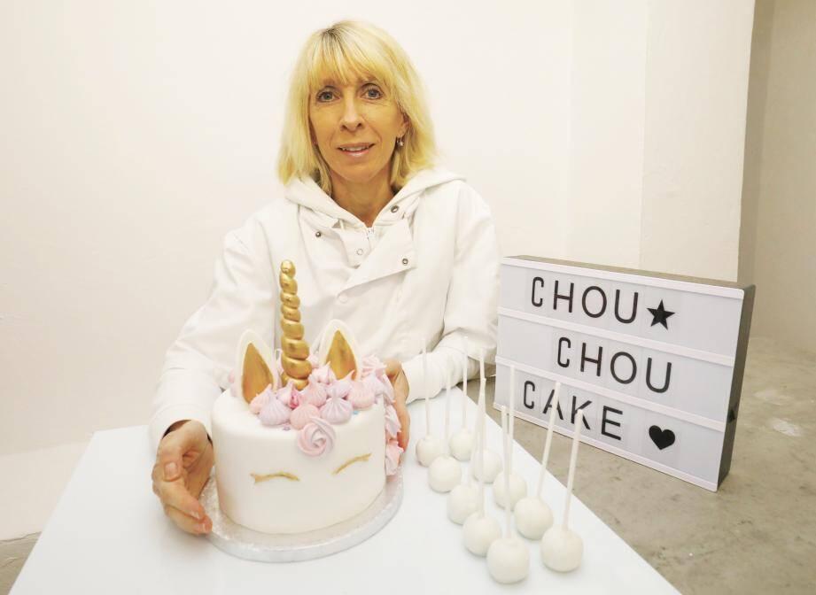 Cette ancienne responsable comptable a ouvert son entreprise de cake design à Cannes.