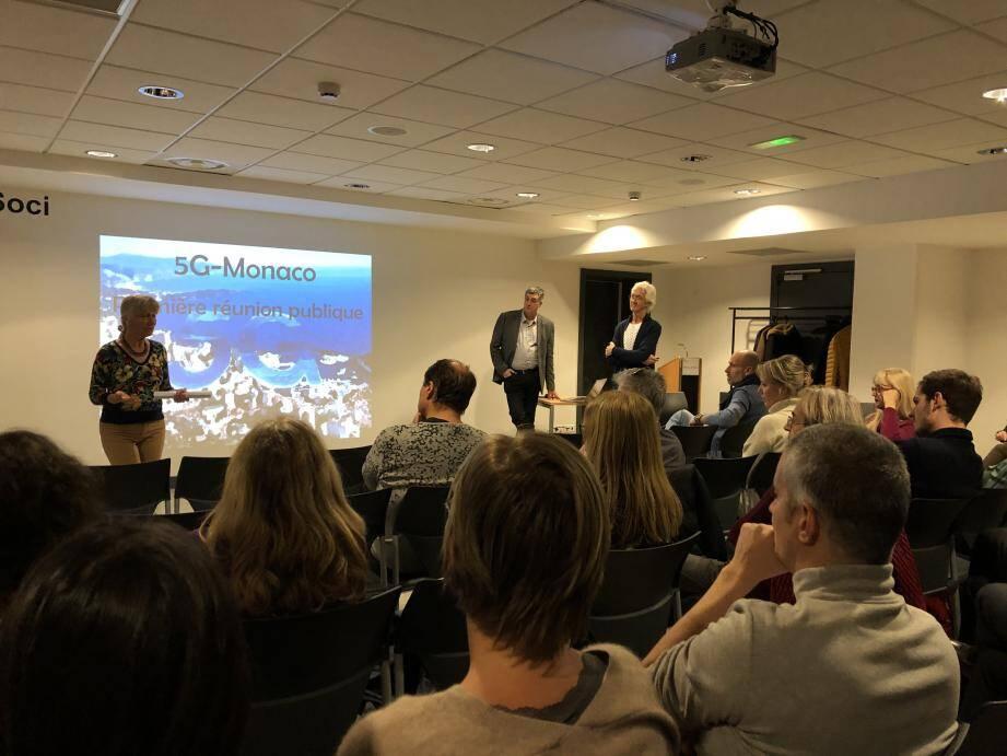 La réunion a permis une présentation de la nouvelle association Monaco 5G, et un partage d'informations et d'inquiétudes, notées par les représentants du gouvernement et de l'opérateur Monaco Telecom.