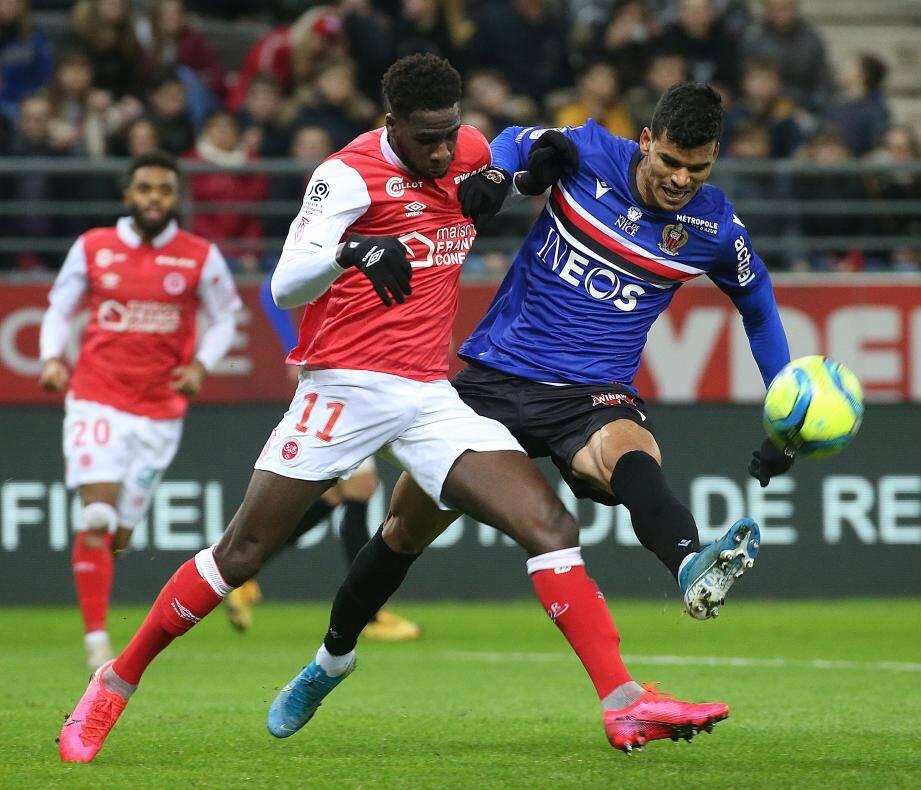Danilo a été  concentré jusqu'à l'égalisation d'Abdelhamid.