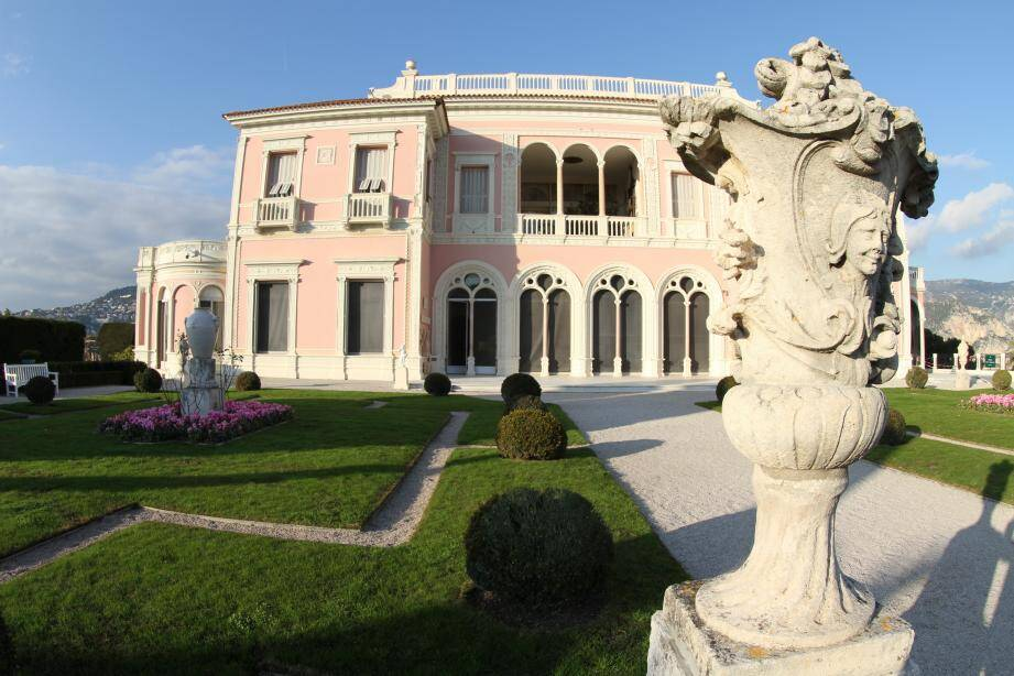 La villa Ephrussi-de-Rothschild.