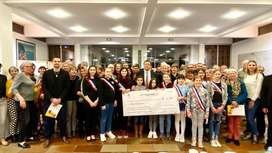 Après un chiffre important l'an dernier, encore un montant record récolté par les Londais pour l'édition 2019 du Téléthon sur la commune.