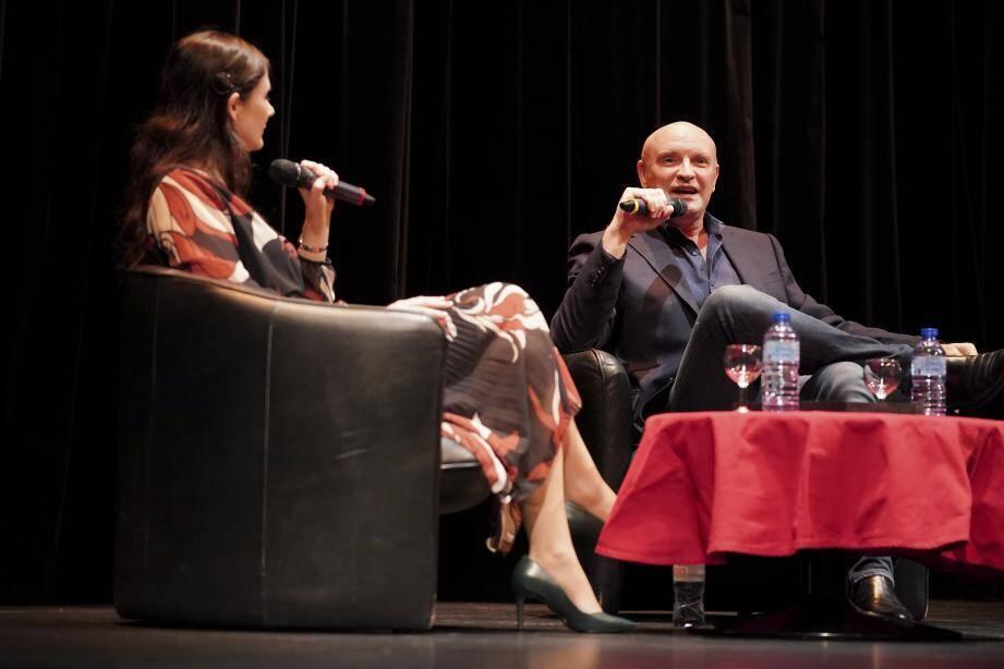 Le chorégraphe-directeur des Ballets de Monte-Carlo a expliqué son parcours et son processus créatif.