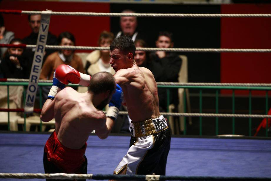 Marvin Callea dispute son 6e combat professionnel ce soir.