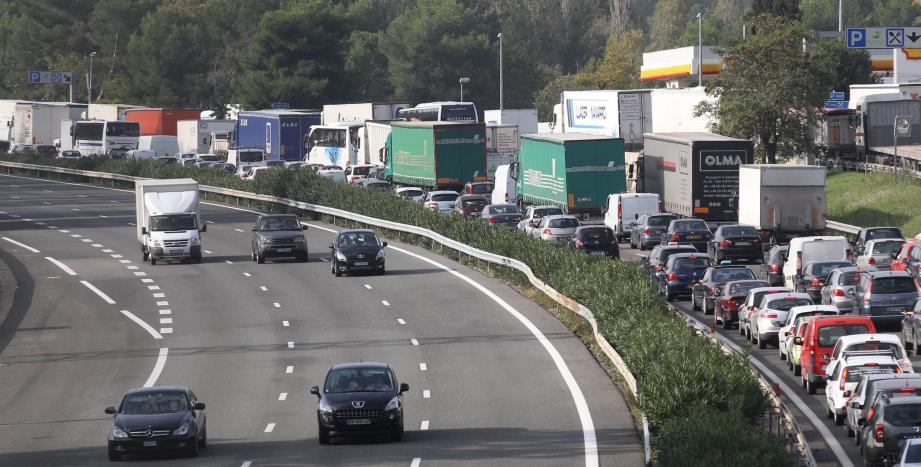 L'altercation mortelle s'est déroulée sur l'aire des Bréguières de l'autoroute A8.