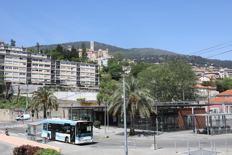 L'agression s'est produite aux abords de la gare SNCF.