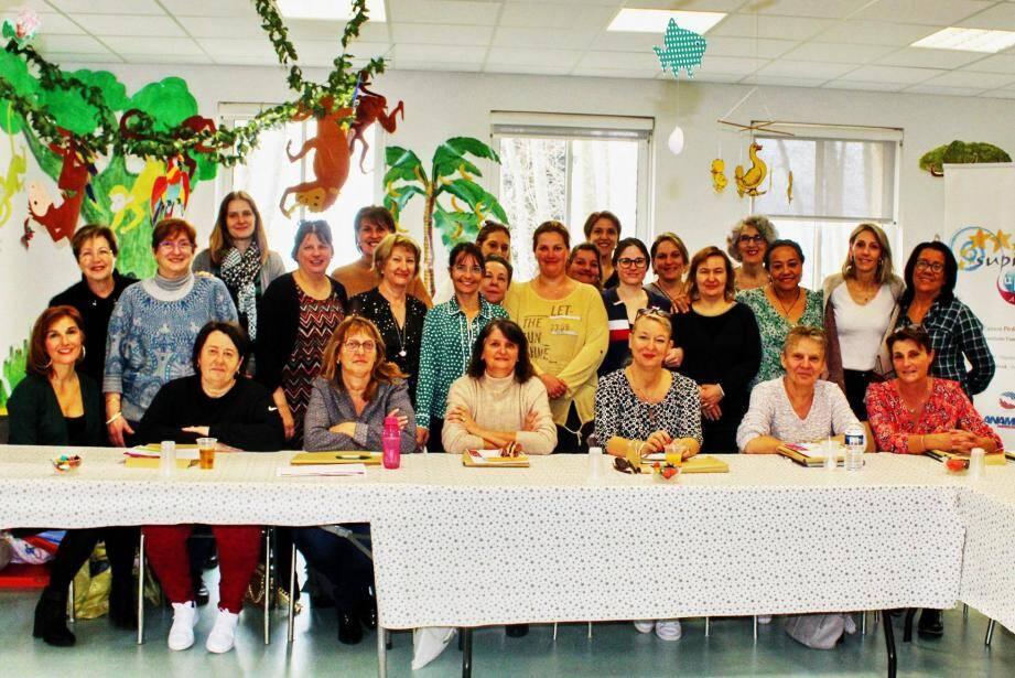 Vingt-six assistantes maternelles du territoire étaient présentes à cette formation.