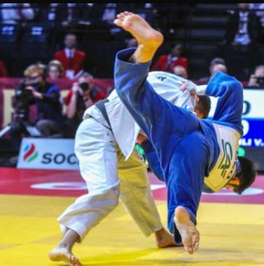 Vieru (Nice Judo) est tombé, en début de compétition, sur un sacré client…