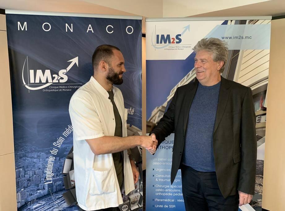 L'IM2S et l'association sportive niçoise sont désormais partenaires pour une prise en charge plus rapide des athlètes.(DR)