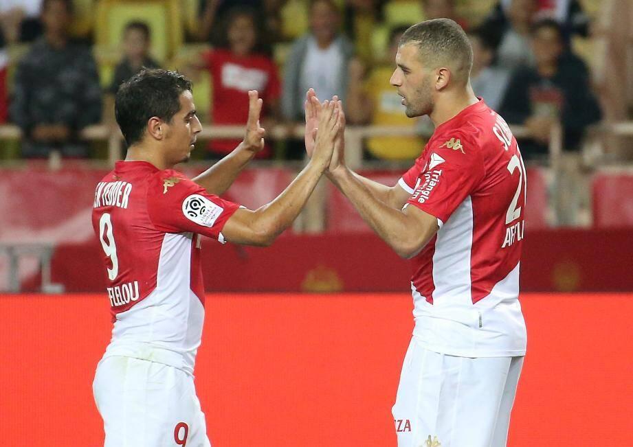 Le duo Ben Yedder- Slimani est aligné à Dijon.