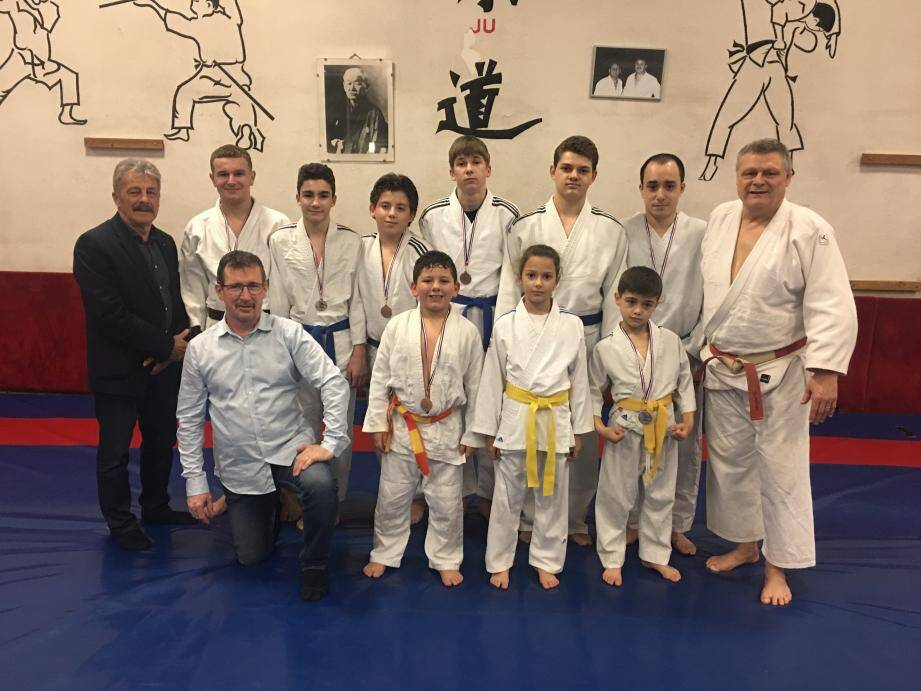 Les judokas du Mochizuki club. (DR)