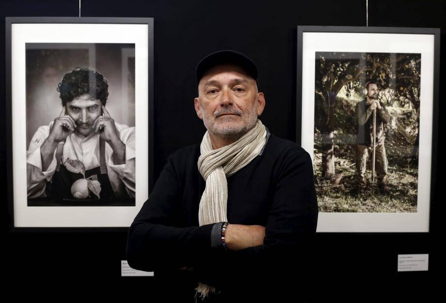 Pendant deux mois, Jean-Pierre Rey a immortalisé le portrait de ceux qui travaillent pour la renommé du Citron de Menton.