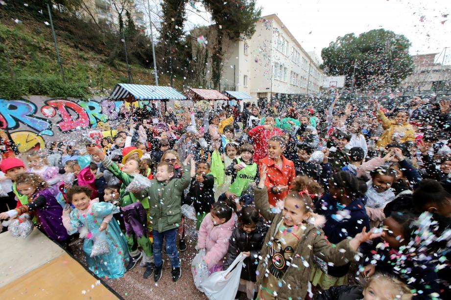 Avec Las Planas, hier, le Roi de la Mode a rappelé son intention de « designer » la fête dans différents quartiers. Le carnaval, c'est l'affaire de tous les Niçois. Des plus petits aux plus grands.
