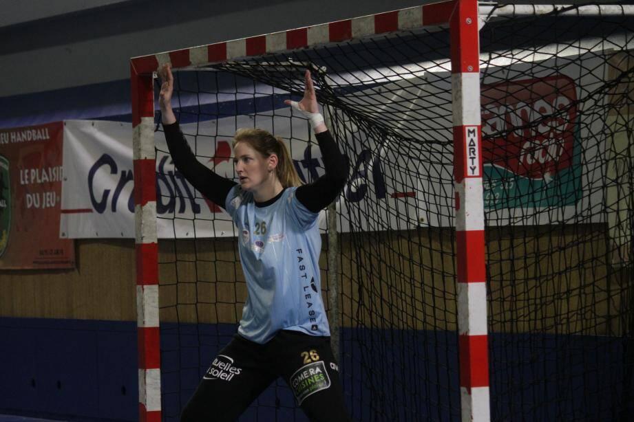 Claire Moreau a été très vigilante dans sa cage face à Tournefeuille.
