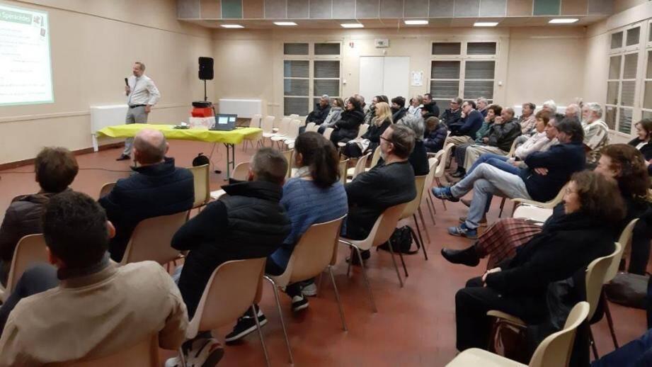 Christophe Frank a expliqué les grandes lignes de son programme.