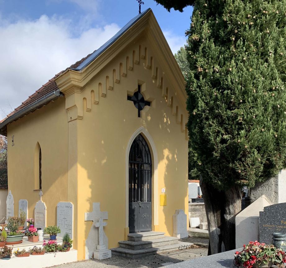La chapelle Sainte-Catherine a retrouvé tout son lustre d'antan.