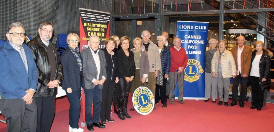 Lions club, Festival du livre et Bibliothèque sonore unissent chaque année leurs efforts pour donner accès au livre aux personnes malvoyantes ou handicapées.