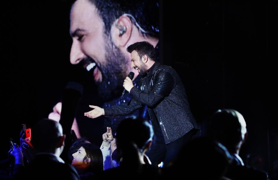 Les spectateurs du concert donné samedi dernier par le chanteur turc Tarkan a rassemblé environ 700 personnes, âgées entre 6 ans et 80 ans.