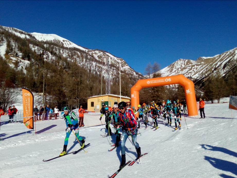 La Victor de Cessole 2020, c'est parti ! Une course de ski-alpinisme réputée sur trois parcours exceptionnels au milieu des mélèzes.