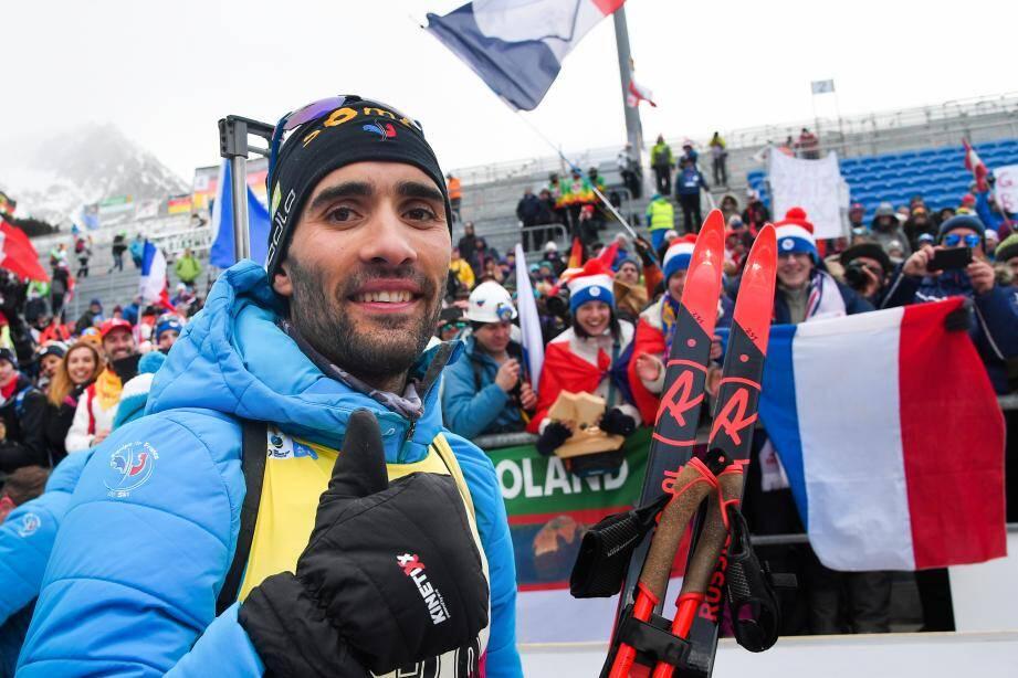 Le Français a décroché un 11e titre mondial individuel.