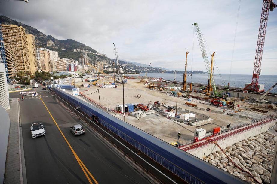 L'État a confirmé que cette affaire n'avait aucune conséquence sur le chantier de l'extension en mer.