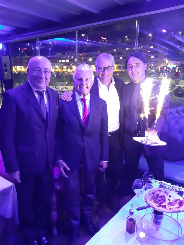 La nouvelle équipe a le soutien de l'ambassadeur d'Italie à Monaco, Cristiano Gallo et du président d'honneur, Niccolo Caissotti di Chiusano.(DR)