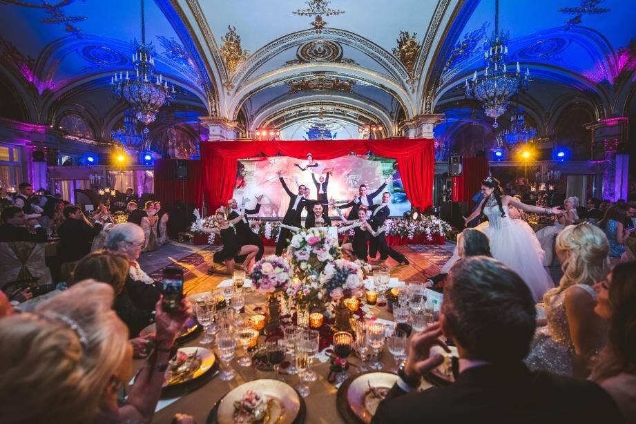 La soirée s'est tenue le soir de la Saint-Valentin, à la Salle Empire.(DR)
