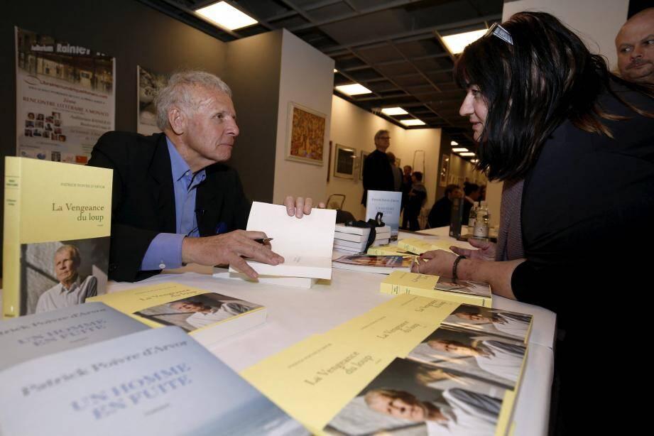 De haut en bas et de gauche à droite : En 2019, le journaliste et écrivain Patrick Poivre d'Arvor avait été un des invités d'honneur de la huitième édition. Cette année, l'évènement accueille, notamment, l'artiste Patrick Moya et le journaliste Eric Naulleau.