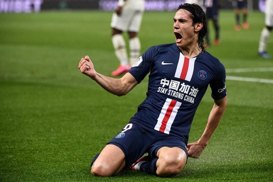 Edinson Cavani a égalisé et marqué son 200e but sous le maillot parisien.