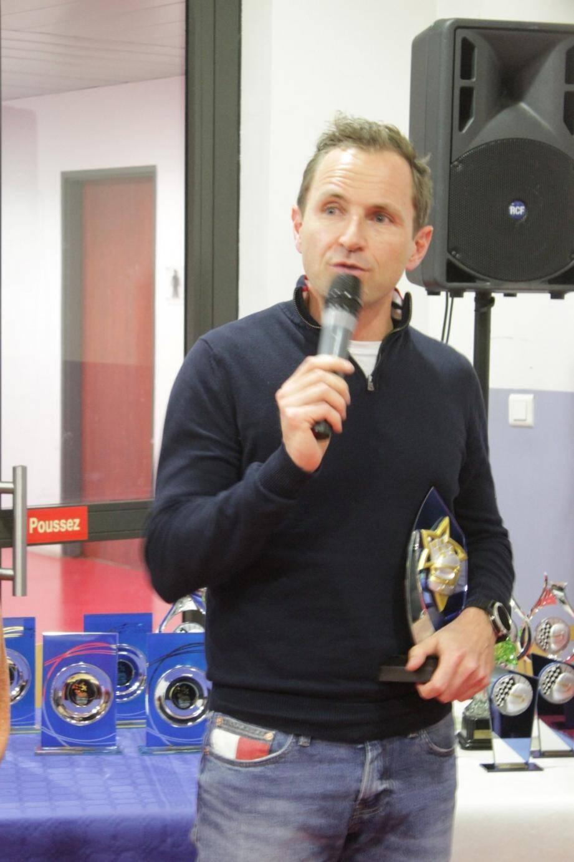 Frédéric Rouvier honoré par l'ASAC.