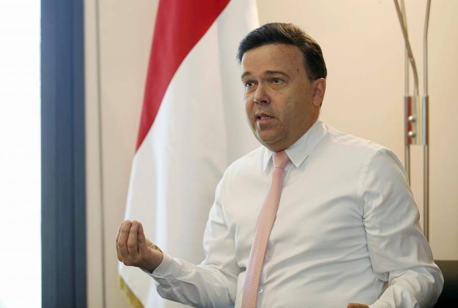 Stéphane Valeri, président du Conseil national.