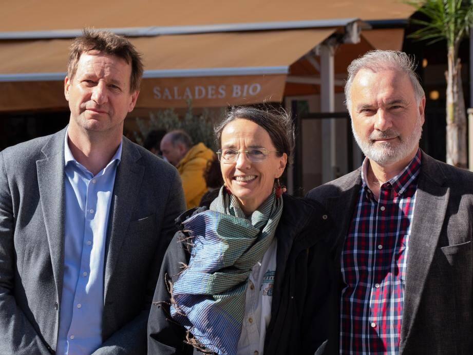 Pour Yannick Jadot, il faut remettre l'écologie au cœur des élections à Nice.(DR)