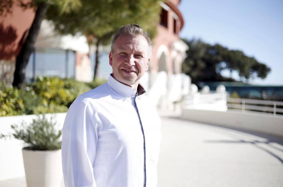 Le chef Benoît Witz fera son premier service au Monte-Carlo Beach, le 20 mars au déjeuner.