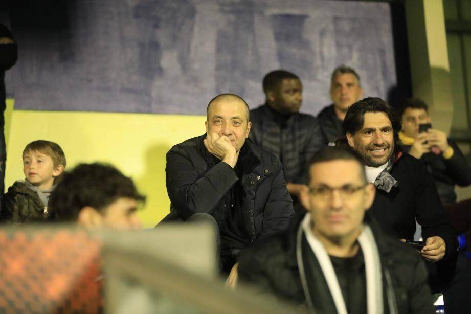 Mourad Boudjellal était bien ce vendredi 7 février à Bon Rencontre pour assister au match entre le Sporting Club de Toulon et Dunkerque.