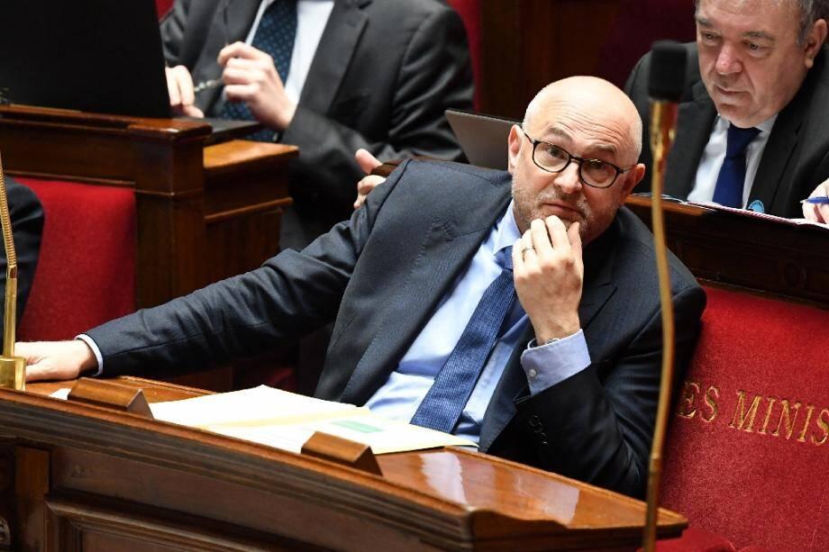 Le secrétaire d'Etat Laurent Pietraszewski à l'Assemblée nationale, le 19 février 2020 à Paris
