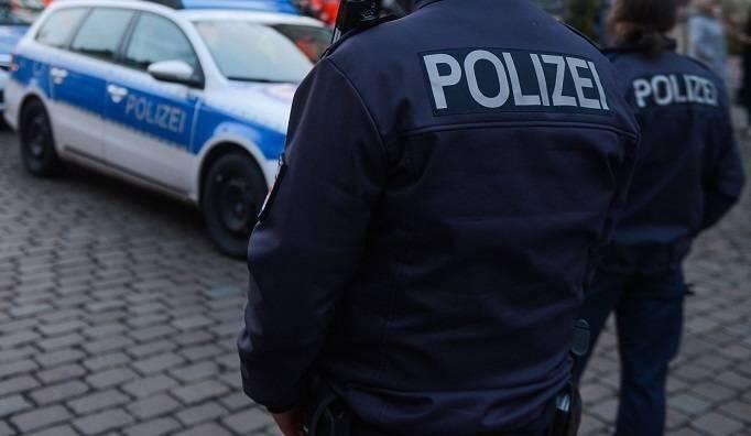 Illustration de la police allemande.
