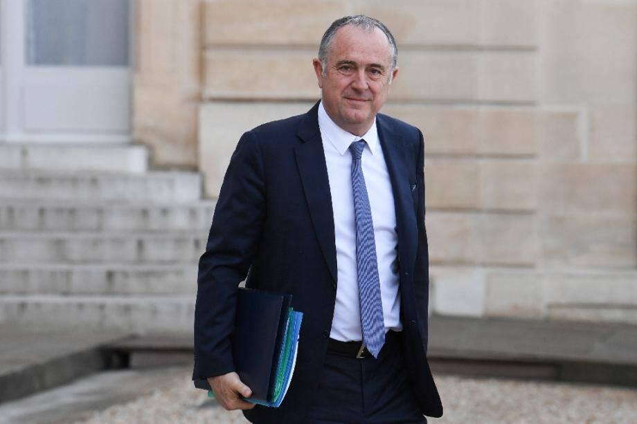 Le ministre français de l'Agriculture Didier Guillaume à l'Elysée, le 12 février 2020.