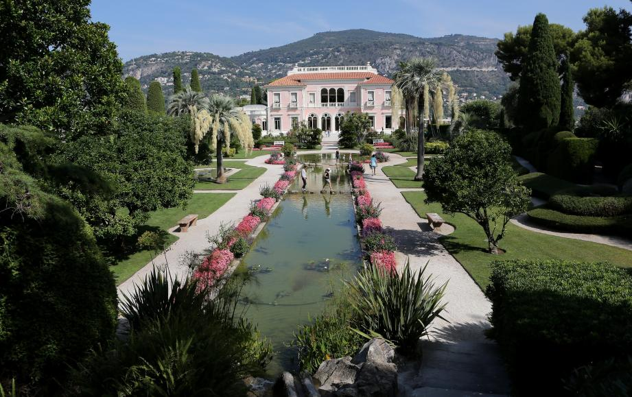 La villa Ephrussi-de-Rothschild à Saint-Jean-Cap-Ferrat.