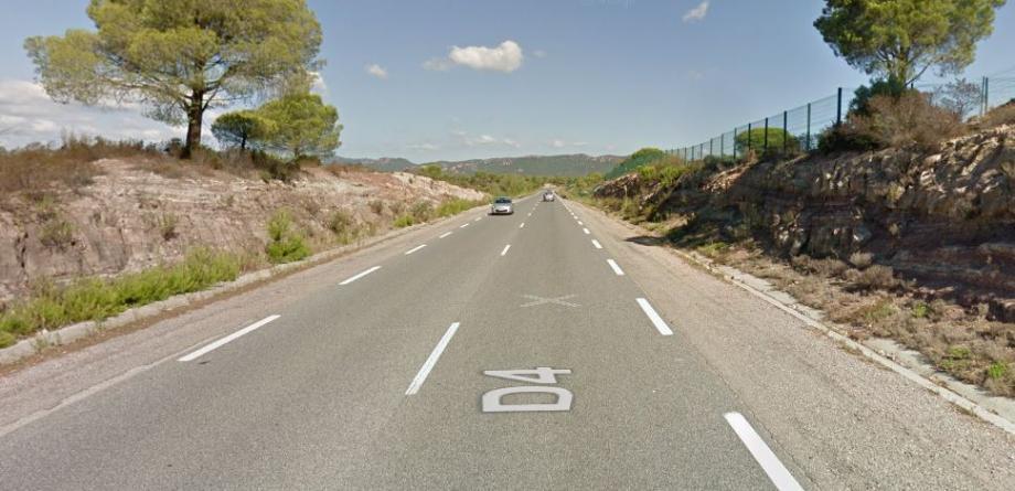 C'est sur la RD4, non loin du camp Lecocq que l'accident s'est produit.