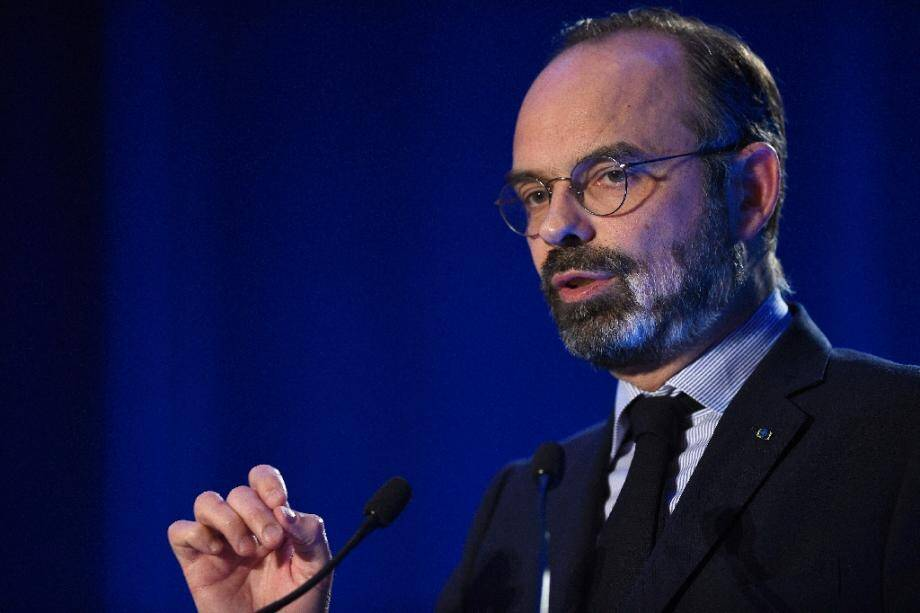 Le Premier ministre, Édouard Philippe, à Metz le 18 février 2020.