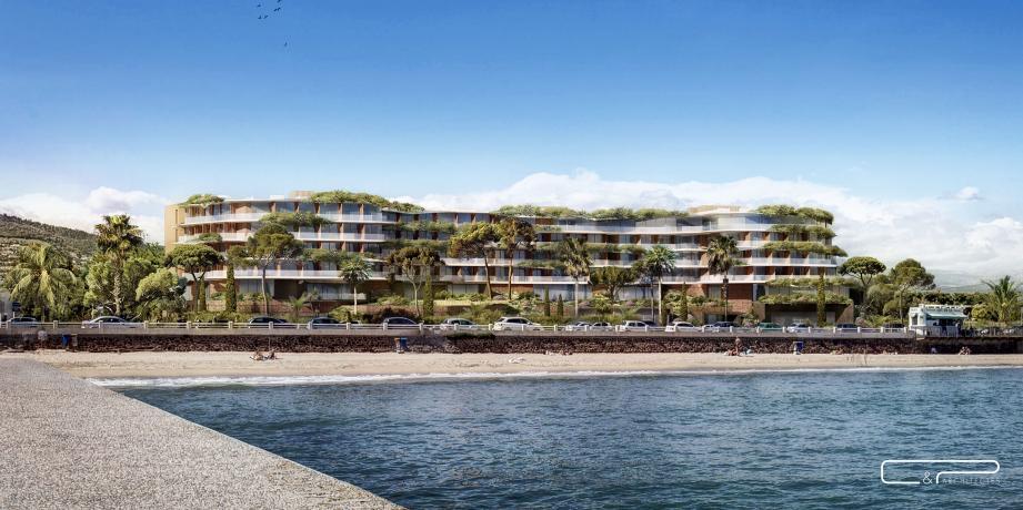 Les deux hôtels doivent sortir de terre en 2022 et 2023, boulevard du Midi à Cannes.