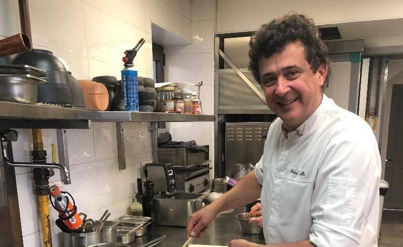 Mathieu Allinei, chef du Bistrot du Port: la mer est son miroir.