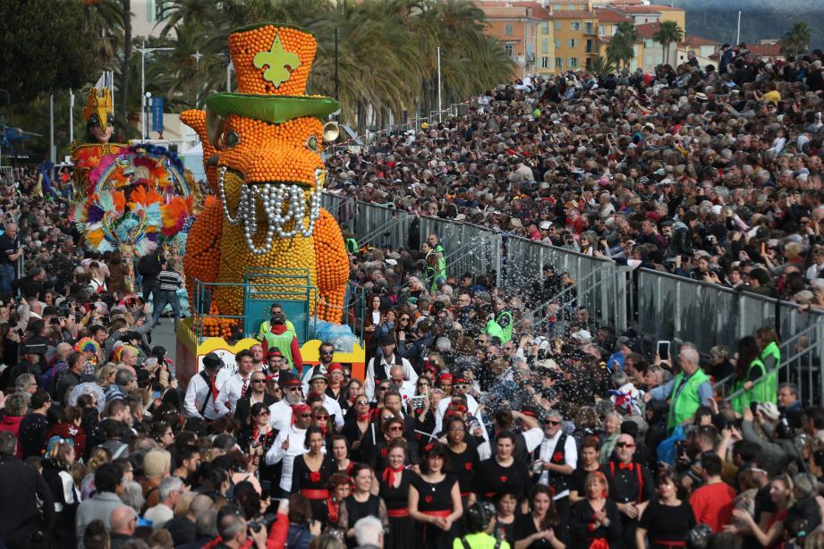 Le deuxième corso de la Fête du citron avait enregistré 27 800 spectateurs. Presque un record.
