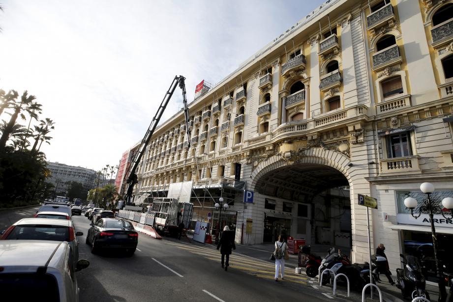 L'hôtel Plaza, à Nice.